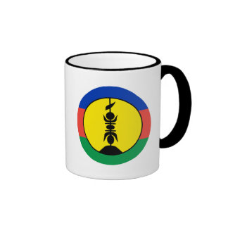 New Caledonia Flag Ringer Mug
