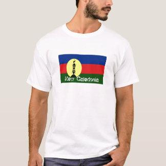 New Caledonia flag souvenir tshirt