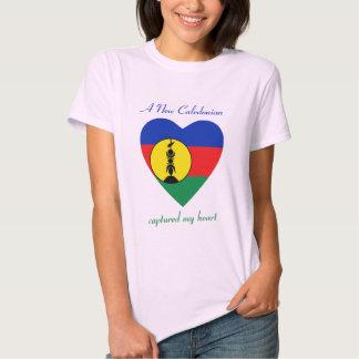 New Caledonia Flag Sweetheart T-Shirt