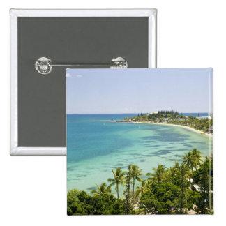 New Caledonia, Grande Terre Island, Noumea. Anse 2 15 Cm Square Badge