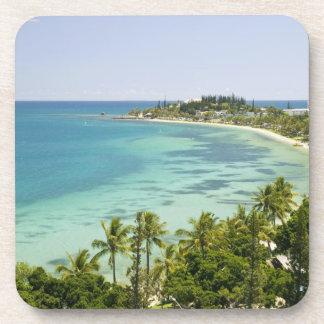 New Caledonia, Grande Terre Island, Noumea. Anse 2 Drink Coaster