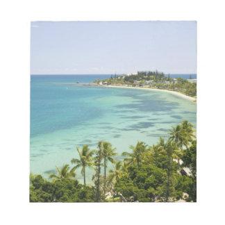 New Caledonia, Grande Terre Island, Noumea. Anse 2 Notepad