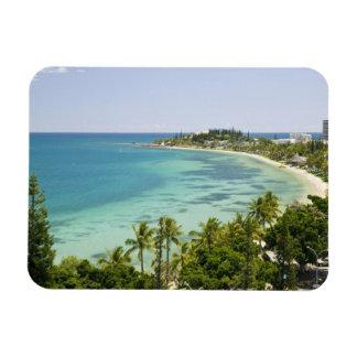 New Caledonia, Grande Terre Island, Noumea. Anse 2 Rectangular Photo Magnet