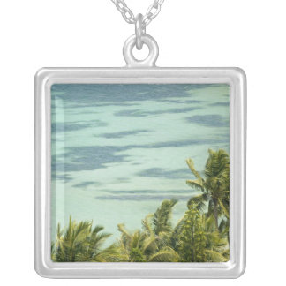 New Caledonia, Grande Terre Island, Noumea. Anse Silver Plated Necklace