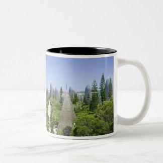 New Caledonia, Grande Terre Island, Noumea. Two-Tone Coffee Mug