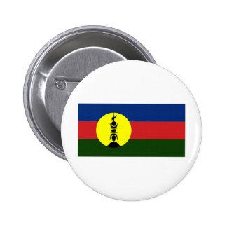 New Caledonia Kanaky Local Flag 6 Cm Round Badge