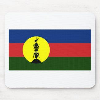 New Caledonia Kanaky Local Flag Mousepads