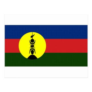 New Caledonia Kanaky Local Flag Postcard
