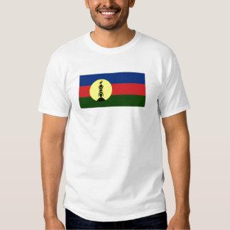New Caledonia Kanaky Local Flag Tee Shirt