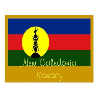New Caledonia Kanaky postcard