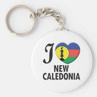 New Caledonia Love Keychain