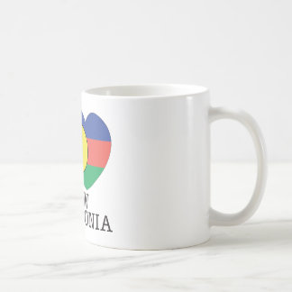 New Caledonia Love v2 Basic White Mug