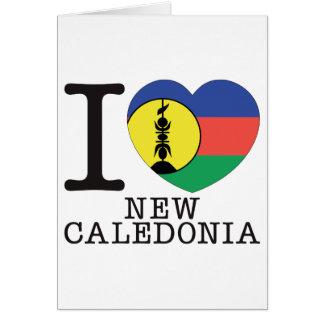 New Caledonia Love v2 Card