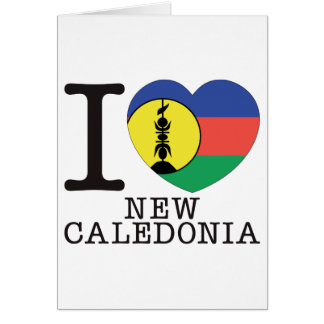 New Caledonia Love v2 Greeting Card