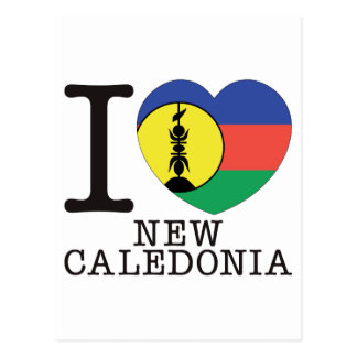 New Caledonia Love v2 Postcard