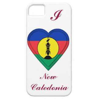 New Caledonia, New Caledonian flag Barely There iPhone 5 Case