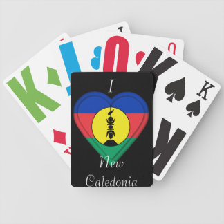 New Caledonia, New Caledonian flag Bicycle Poker Cards