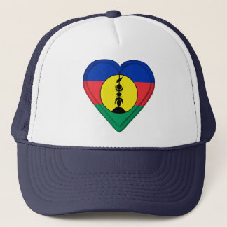 New Caledonia, New Caledonian flag Trucker Hat