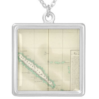 New Caledonia Oceania no 46 Silver Plated Necklace