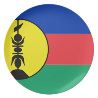 New Caledonia Party Plate