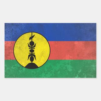 New Caledonia Rectangular Sticker