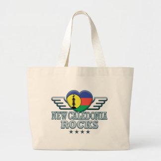 New Caledonia Rocks v2 Tote Bags
