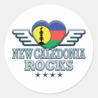 New Caledonia Rocks v2 Stickers