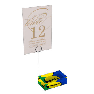 NEW CALEDONIA TABLE CARD HOLDERS