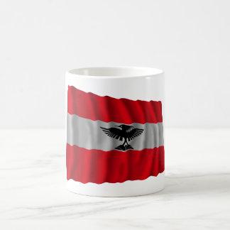 New Caledonia Waving Flag Basic White Mug