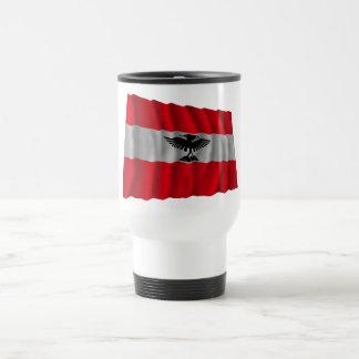 New Caledonia Waving Flag Coffee Mugs