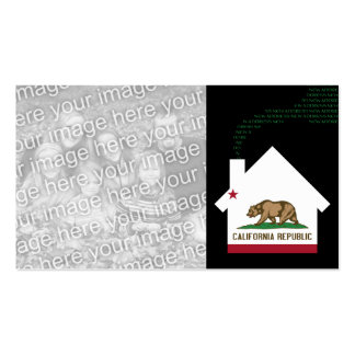 new california address pack of standard business cards