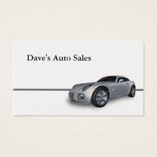 New Car Business Card