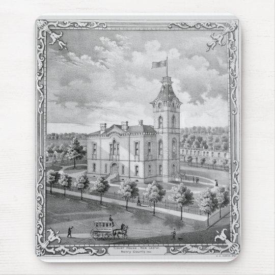 New Castle Court House 1875 Mouse Mat
