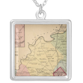New Castle Hundred Silver Plated Necklace