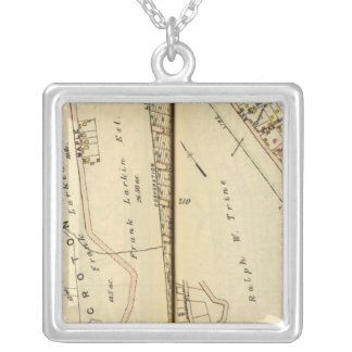 New Castle, New York 2 Silver Plated Necklace