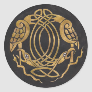 New Celtic Knot Products Classic Round Sticker