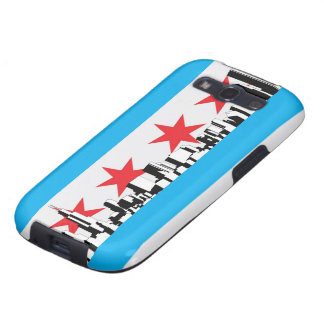 New Chicago Flag Samsung Galaxy SIII Cover