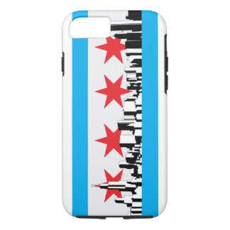 New Chicago Flag iPhone 8/7 Case