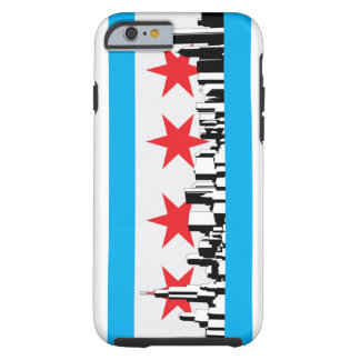 New Chicago Flag Tough iPhone 6 Case