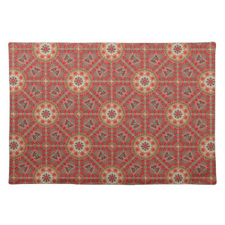 New Chocolate Red Designer Placemat Gift