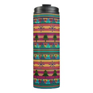 New Christmas pattern Thermal Tumbler