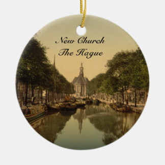 New Church, The Hague, Netherlands Christmas Ornament