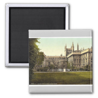 New College, garden front, Oxford, England magnifi Square Magnet