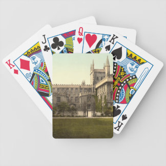 New College, Oxford, England Bicycle Playing Cards