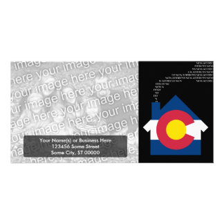 new colorado address customised photo card