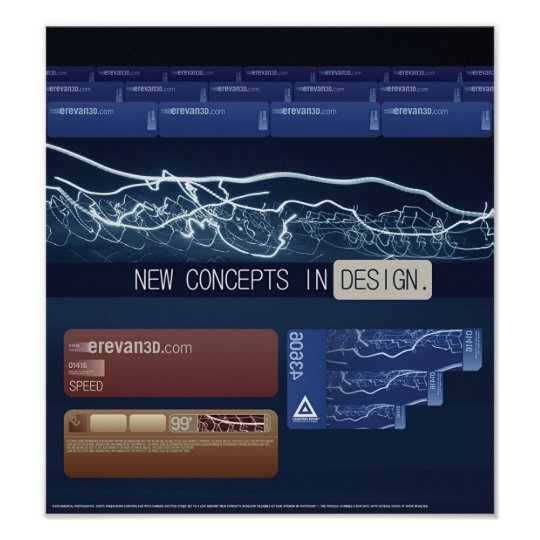 New Concepts in Design Poster