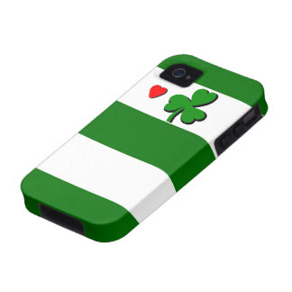 New Cool Boston Sports iPhone Case Green Shamrock iPhone 4/4S Case