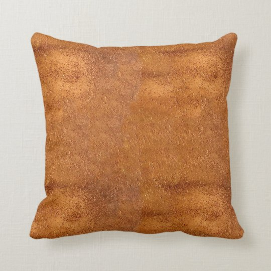 New Copper Look Textured Pillow