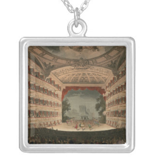 New Covent Garden Theatre Silver Plated Necklace