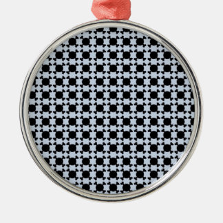 new cráneo Silver-Colored round decoration